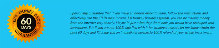60 Day 100% Money Back Guarantee