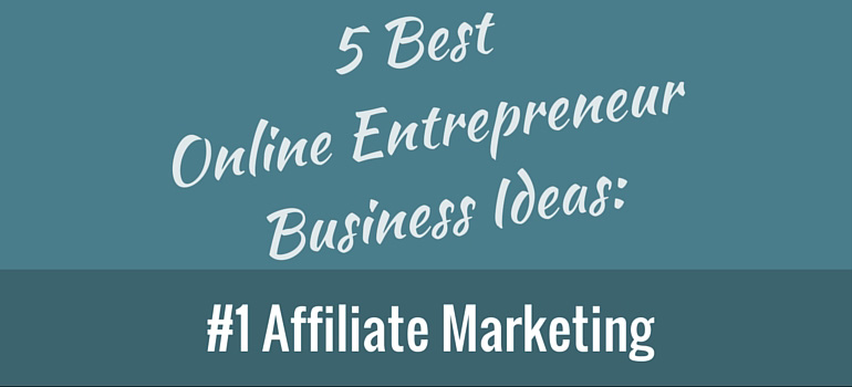 Business Model Affiliate Marketing