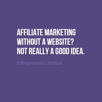 Build Affiliate Business On a Website