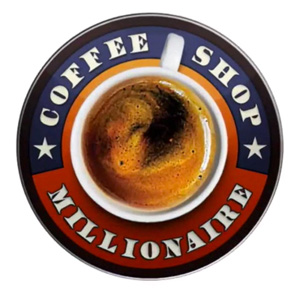 Logo Of Coffee Shop Millionaire