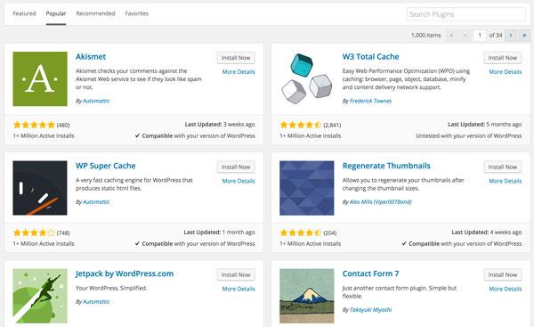 Choose Useful WordPress Plugins