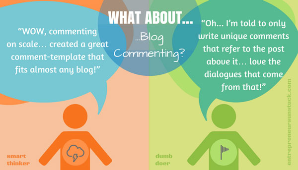 Write compelling blog comments