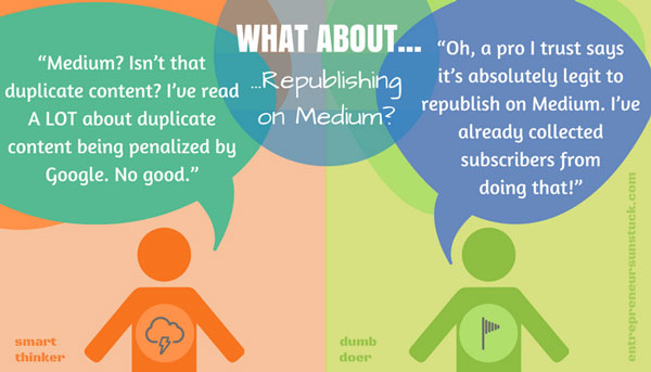 Republish on Medium