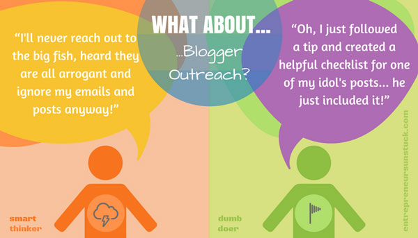 Engage in blogger outreach