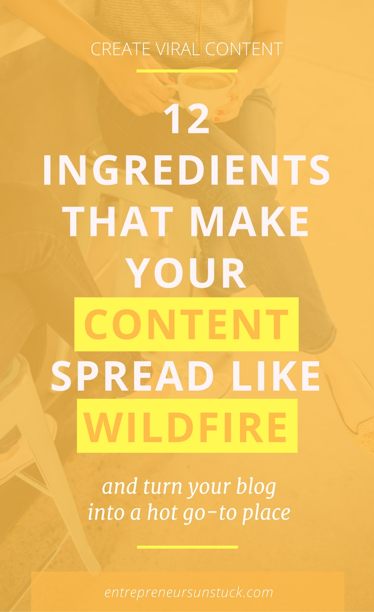 """Want to crack the code of creating content that makes people """"I need to share this""""? Here are the 12 ingredients your posts need to engage your audience and boost your shares!"""
