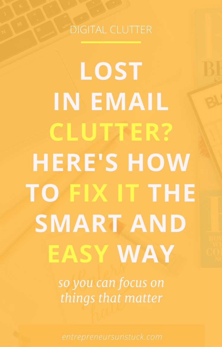 Are you a blogger or entrepreneur close to surrender in the fight against your ever growing email inbox? Well, you're in good company… Here's quick and easy help to fix your email clutter once for all!
