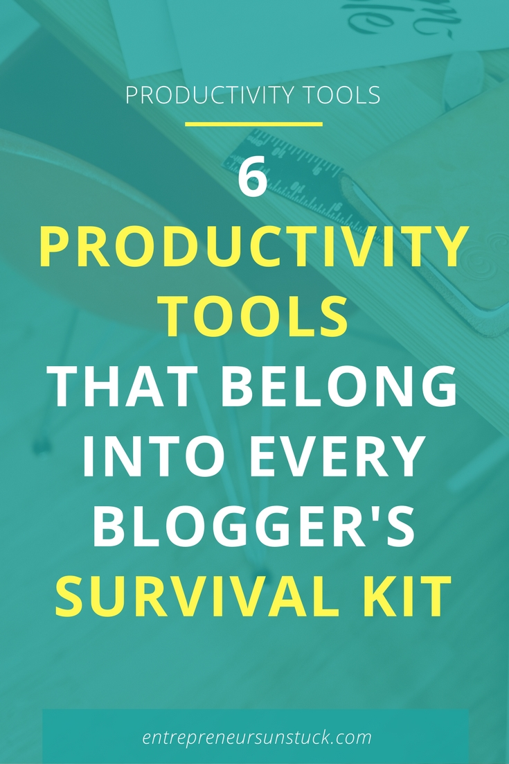 Want less distraction and more results in your working days as a blogger or entrepreneur flying solo? Then check out these comfy productivity tools to elevate the outcome of your work!