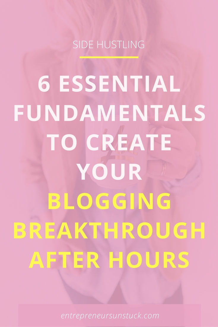 Are you having a hard time growing your blog while working fulltime? Here are 6 secrets that add massive ease and results to your side hustling! #BloggingTips #ProductivityTips #Entrepreneur